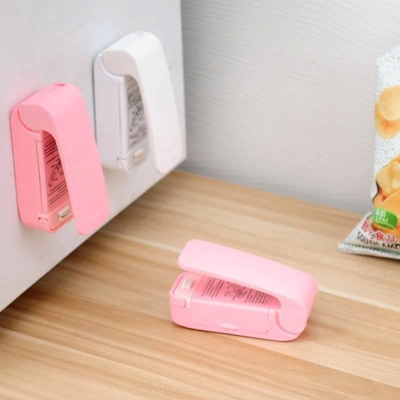 Portable Mini Food Sealer Machine Home Goods Kitchen & Dining