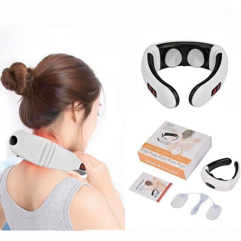 Electric Pulse Neck Massager Health & Beauty Makeup