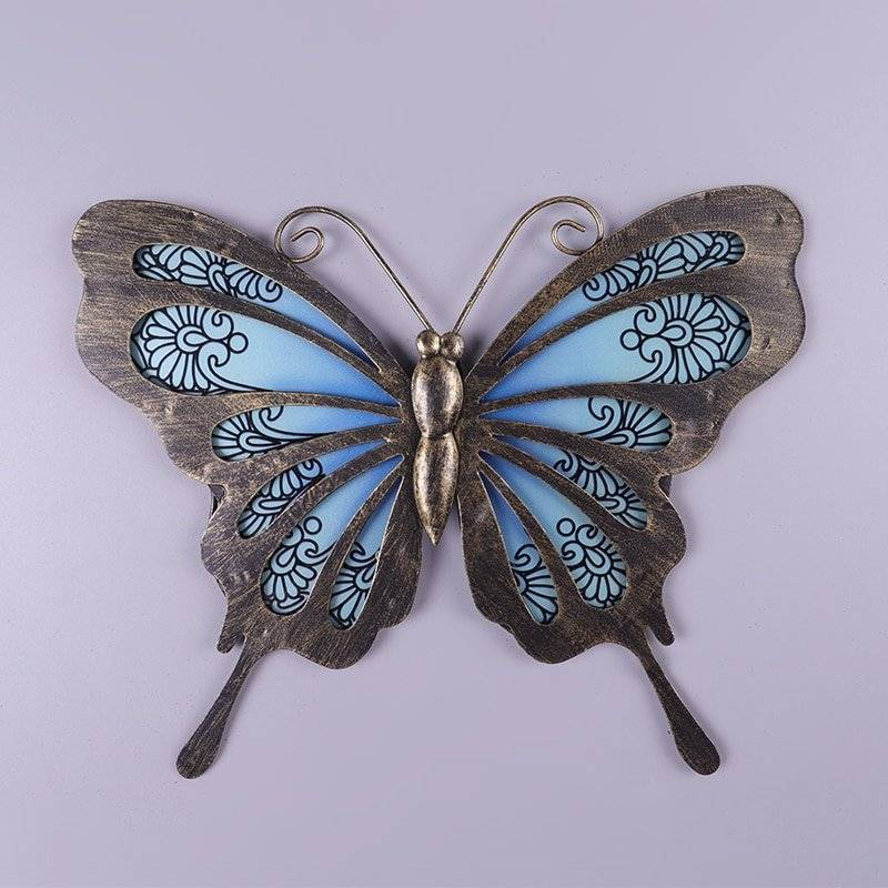 Garden Butterfly of Wall Artwork Decor Home Goods Home Decor