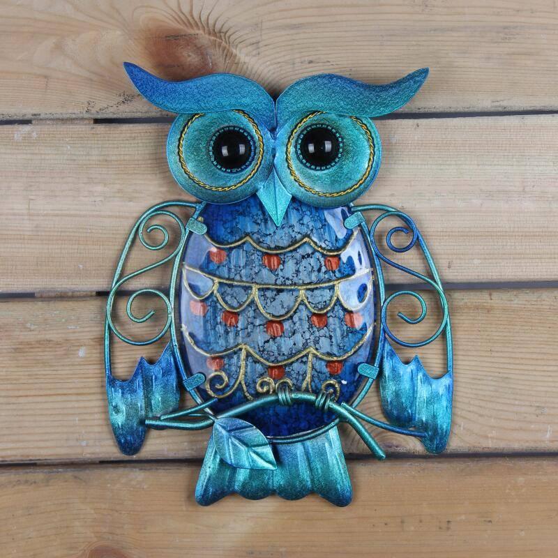 Metal Owl Home Decor for Garden Home Goods Home Decor
