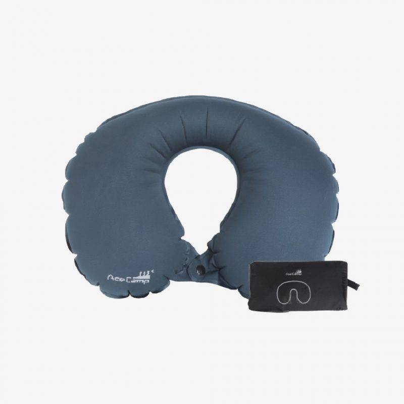 Ace Camp Navy U-Shape Inflatable Air Pillow Driving Comfort Auto