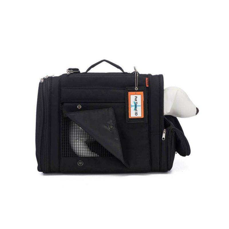 Hideaway Backpack – Black Dog in a Car Auto