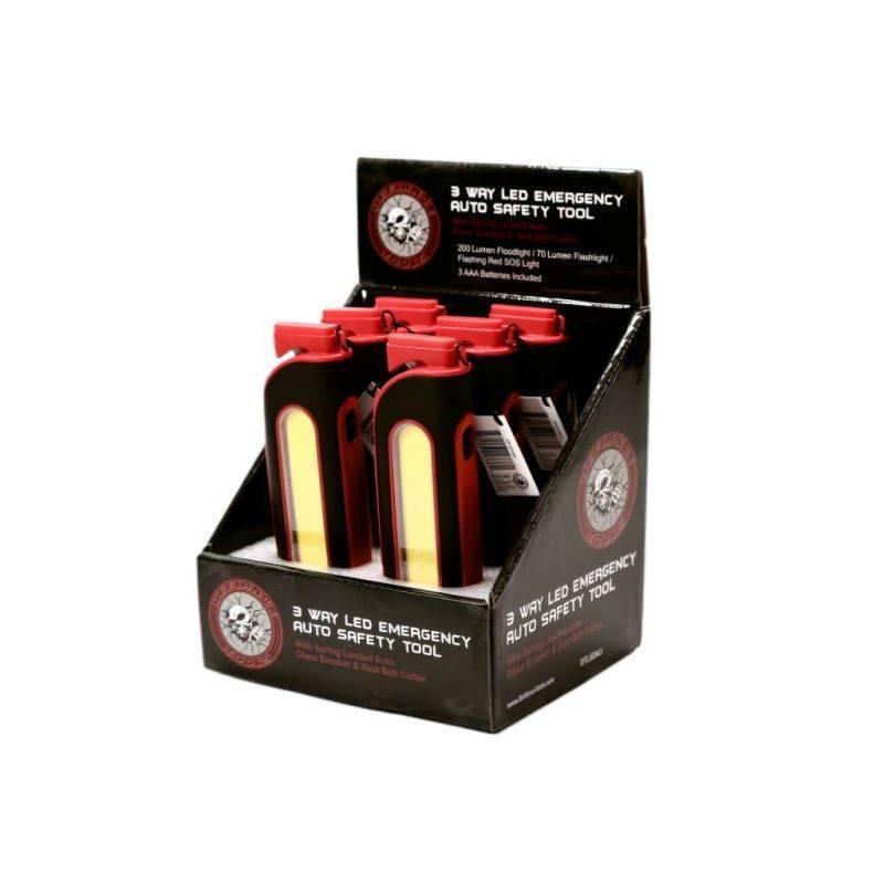 3-Way LED Emergency Tool Car Utilities Auto