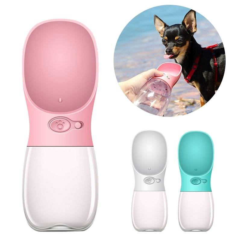 Portable Pet Water Bottle Pet Supplies Feeding & Watering