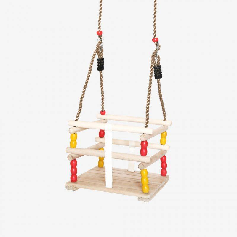 Wooden Baby Swing For Babies And Toddlers Baby & Kid's Accessories Kids Toys