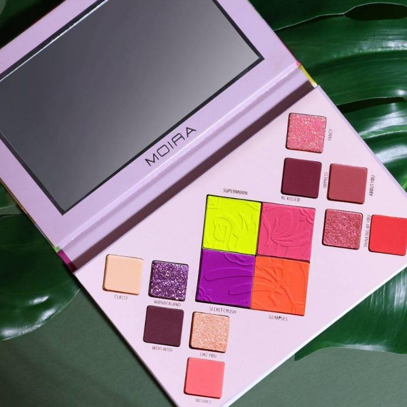 Moira Flirting Flamingos Palette Health & Beauty Makeup