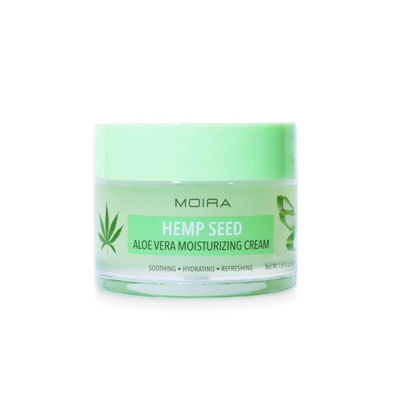 Moira Hemp Seed Aloe Vera Moisturizing Cream Health & Beauty Skin Care