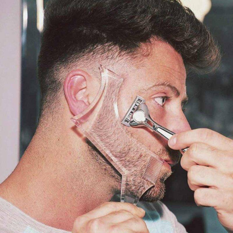 Beard Shaping Comb Health & Beauty Men's Grooming