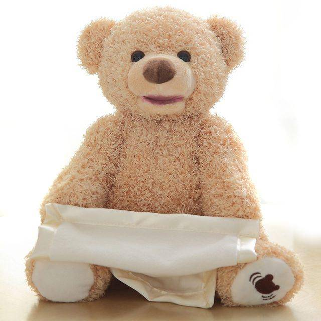 Peek-a-Boo Bear Toy Baby & Kid's Accessories Kids Toys Baby in a Car