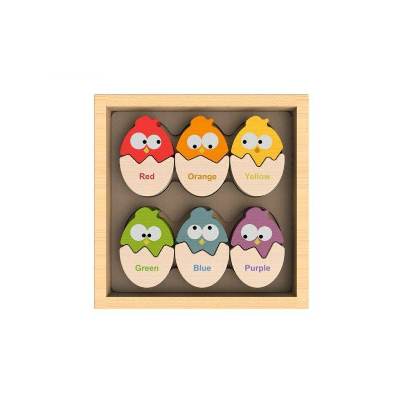 Color 'N Eggs. Bilingual Matching Puzzle Baby & Kid's Accessories Kids Toys