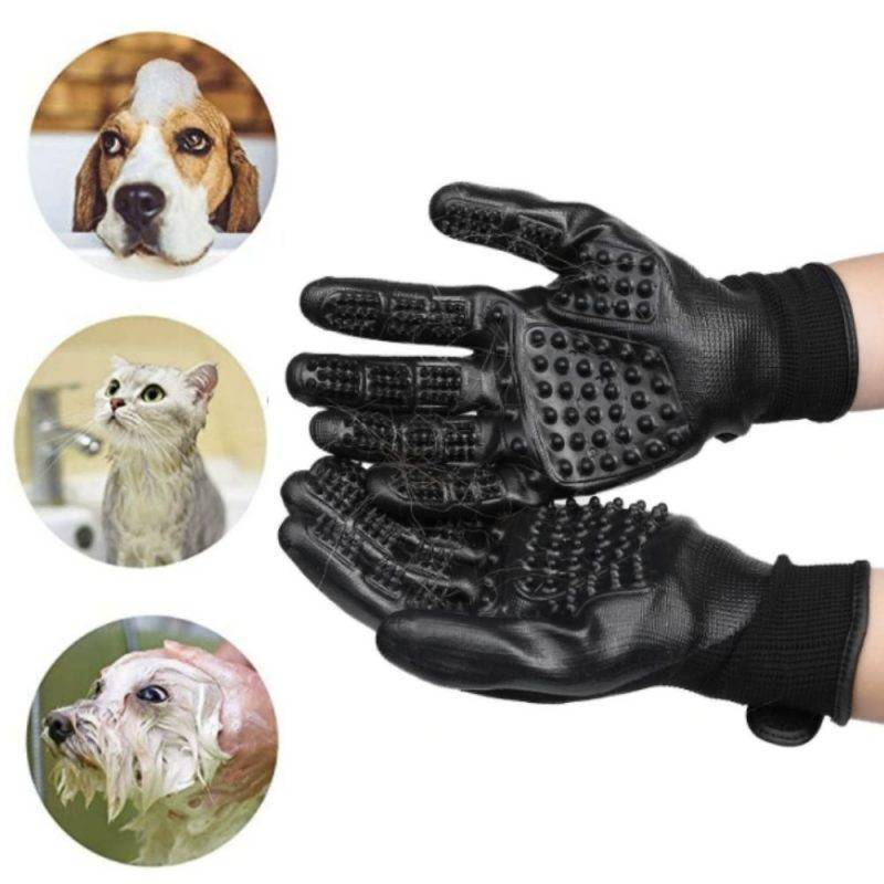 Pet Anti-Shedding Gloves Pet Supplies Health Supplies Tools & Accessories