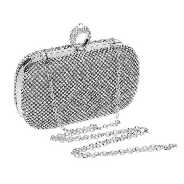 Rhinestone Evening Clutch Luggage & Bags Fashion Bags