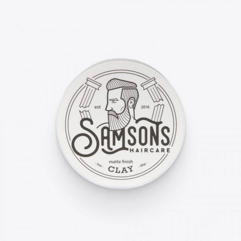 Samson's Matte Finish Clay Health & Beauty Men's Grooming