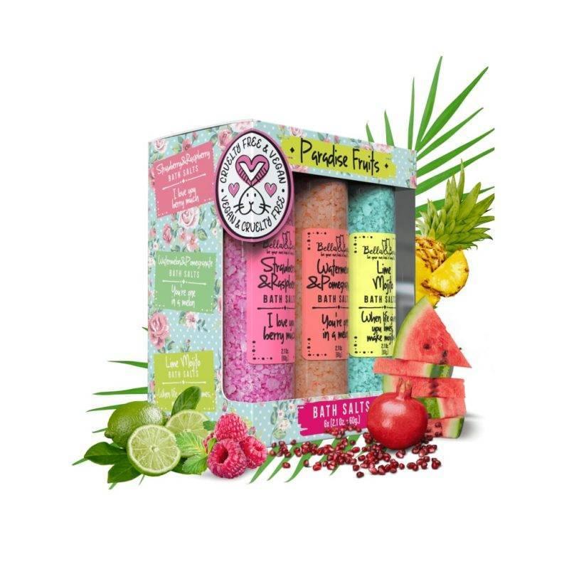Paradise Fruits Bath Salts Health & Beauty Skin Care