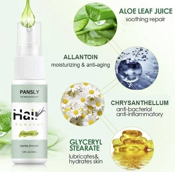 Hair Removal Spray Health & Beauty Skin Care Personal Care