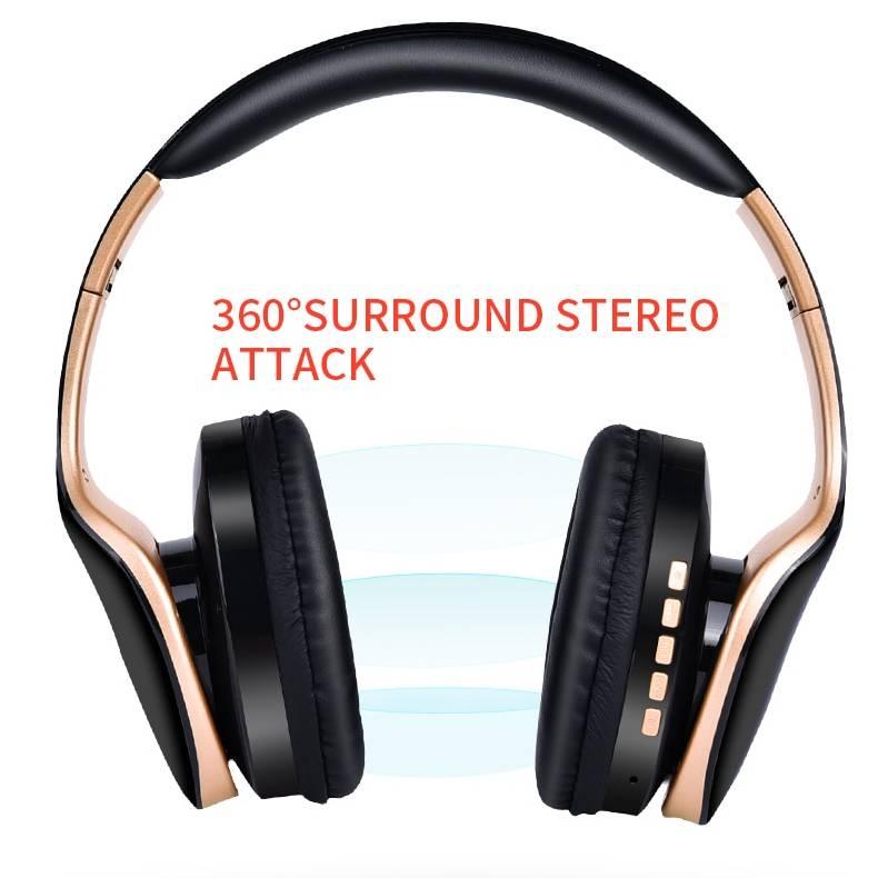 Wireless Foldable Gaming Headphones Headphones Electronics