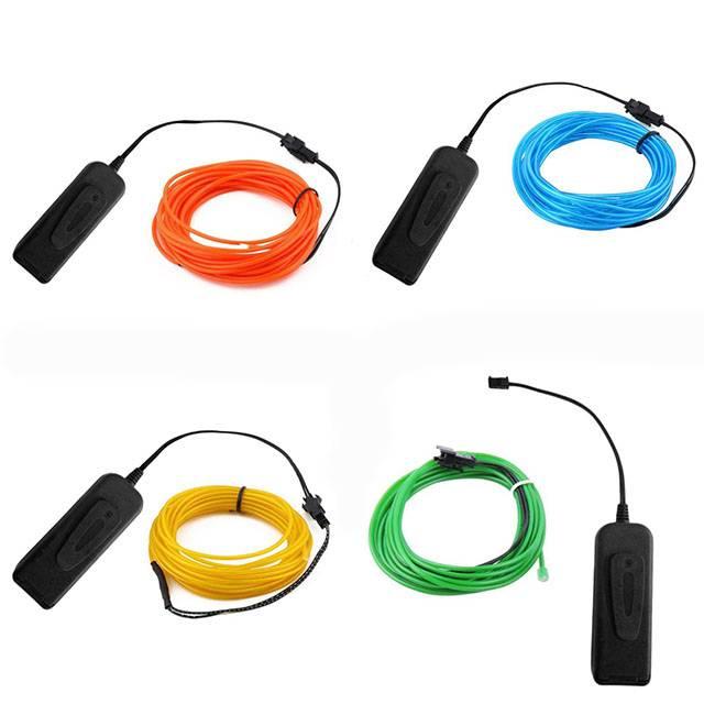 Neon Glow Cable Car Utilities Auto