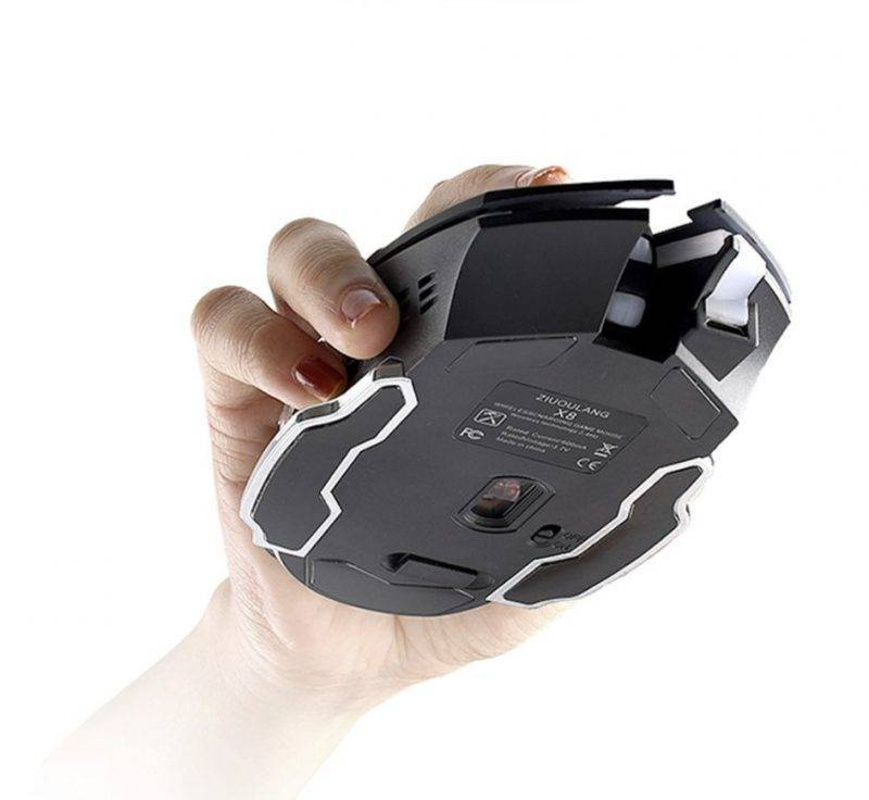 Wireless Silent Gaming Mouse Bluetooth & Wireless Speakers Electronics