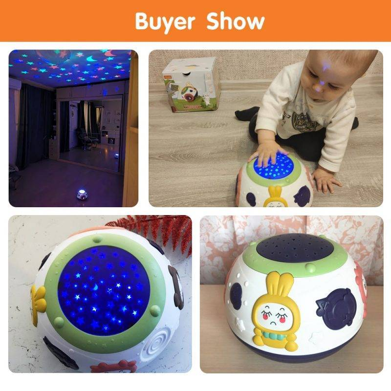 Starry Baby Night Light Baby & Kid's Accessories Baby Monitor's Kids Electronics