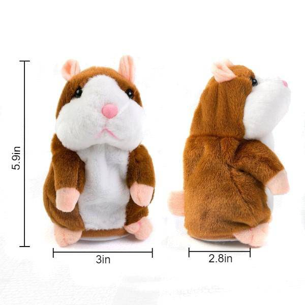 Talking Hamster Plush Toy Baby & Kid's Accessories Kids Toys
