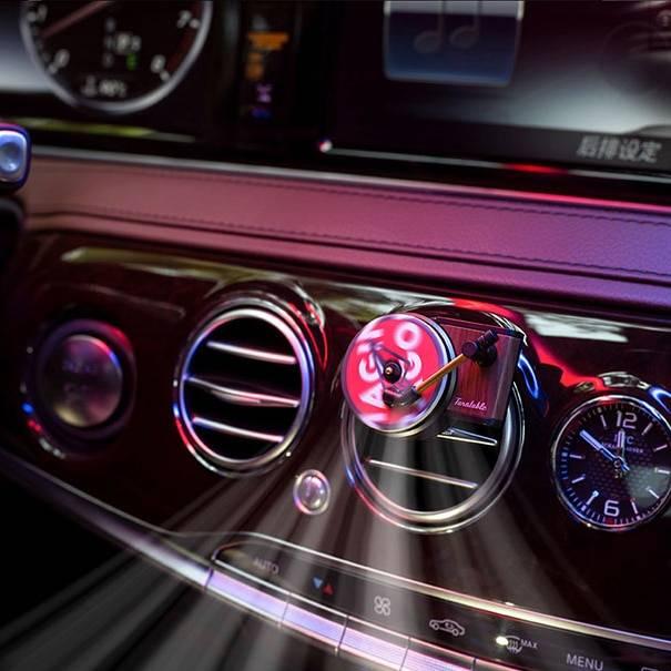 Retro Player Car Air Freshener Car Utilities Driving Comfort Auto