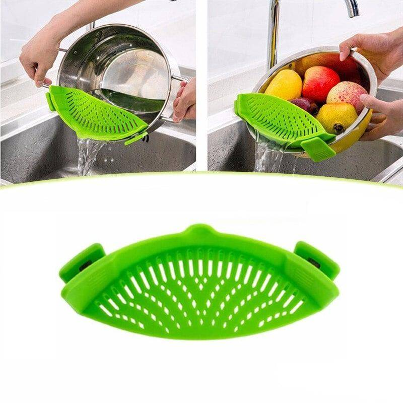 Silicone Pot Strainer Home Goods Kitchen & Dining Tools