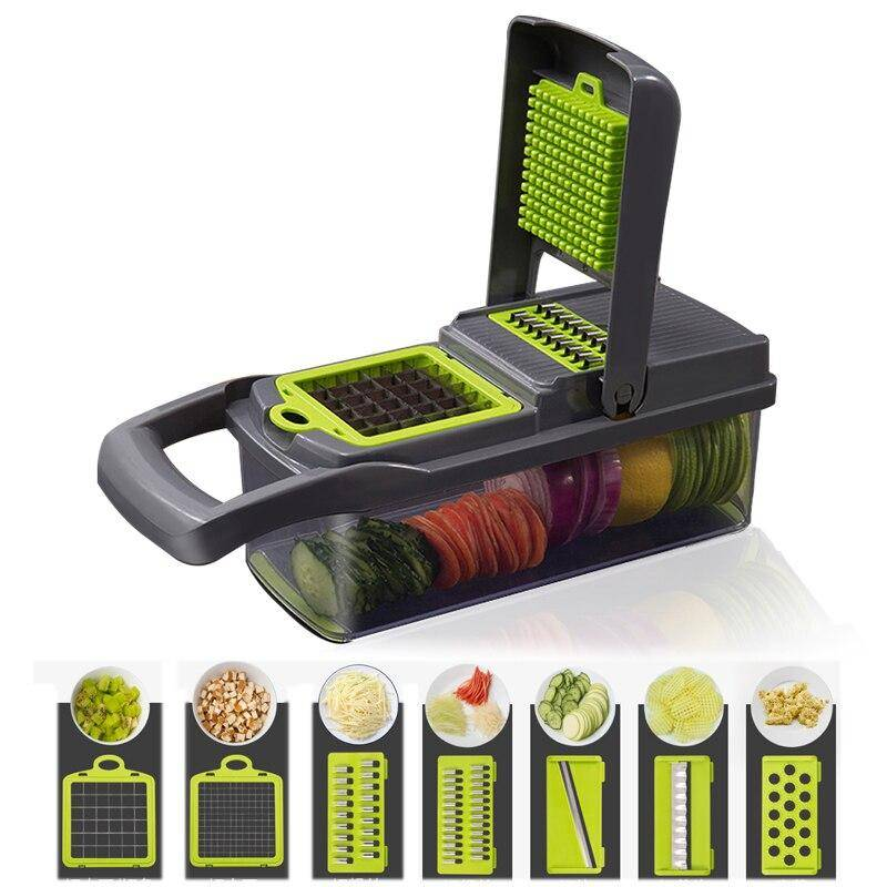 Multifunctional Vegetable Cutter Home Goods Kitchen & Dining Tools