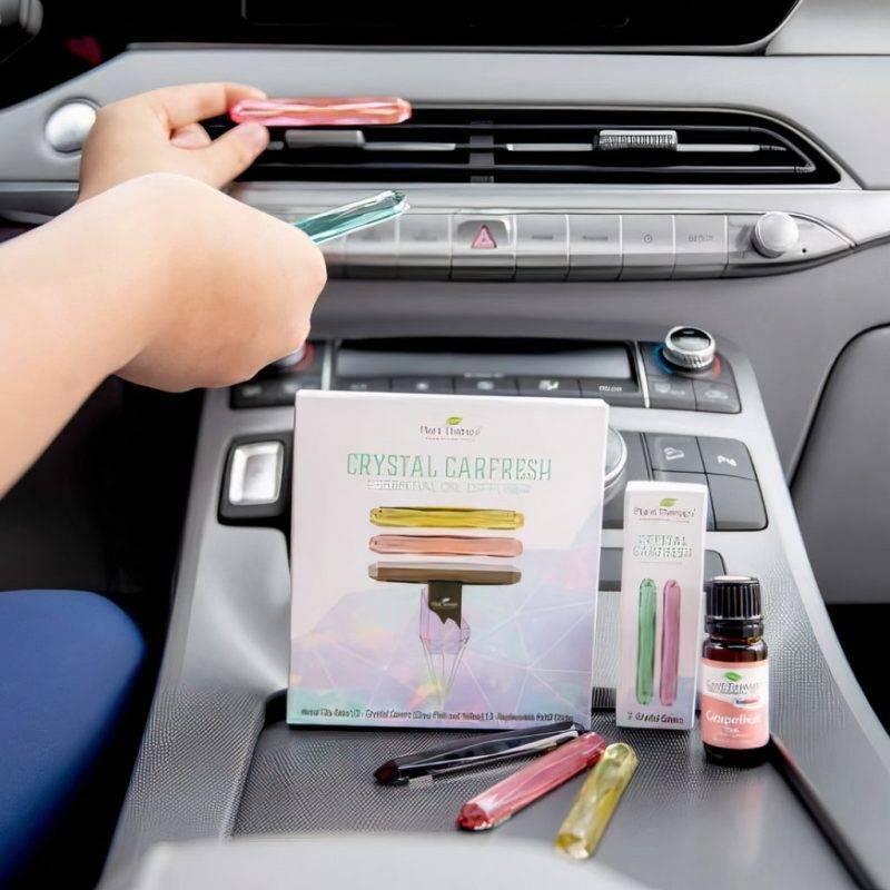 Multi-Crystal Carfresh Diffuser Car Utilities Auto