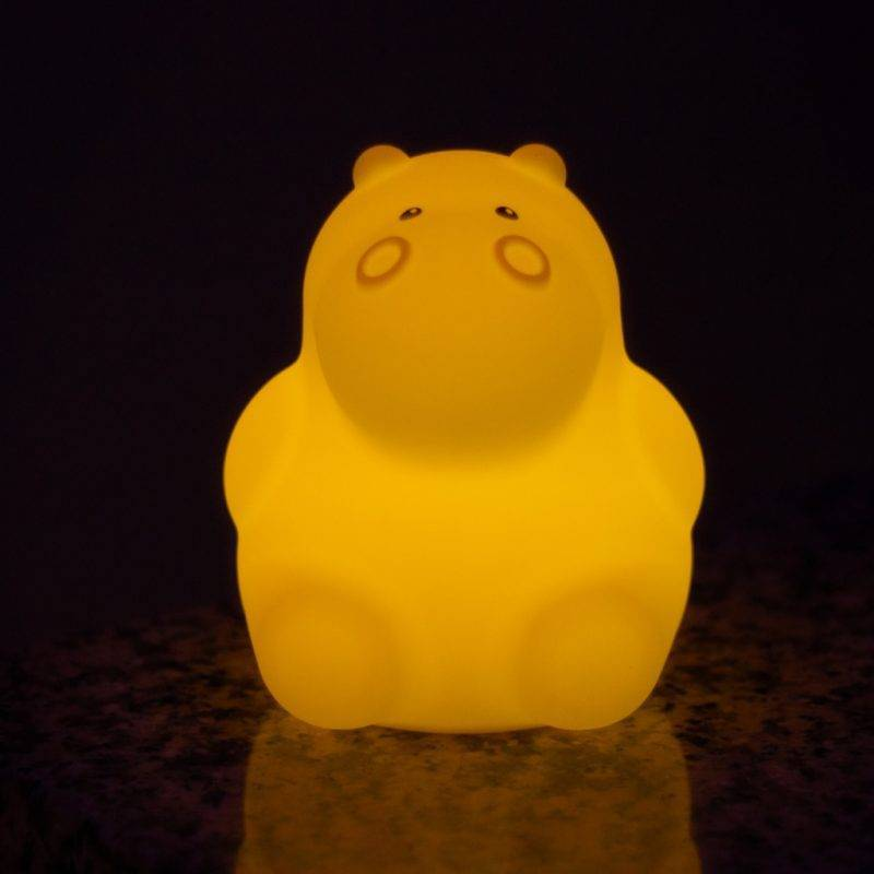 LED Hippo Night Light Baby & Kid's Accessories Kids Electronics