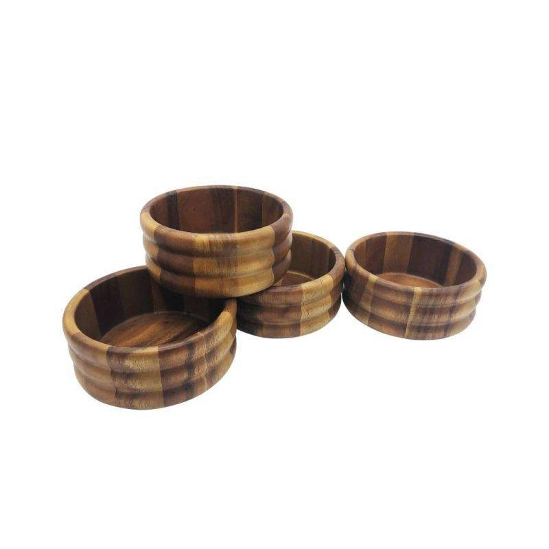 Individual Salad Bowl x 4 Home Goods Kitchen & Dining