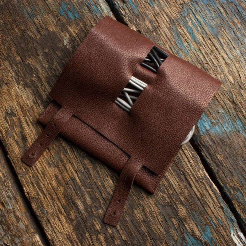 Brown Leather Cord Wrap Home Goods Tools