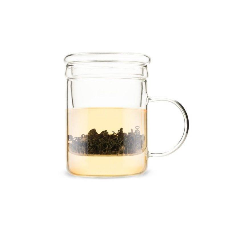 Blake Glass Tea Infuser Mug Home Goods Kitchen & Dining