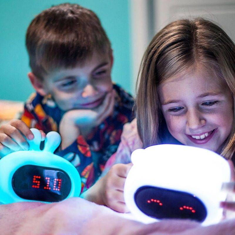 Bear Night Light With Clock Baby & Kid's Accessories Kids Electronics