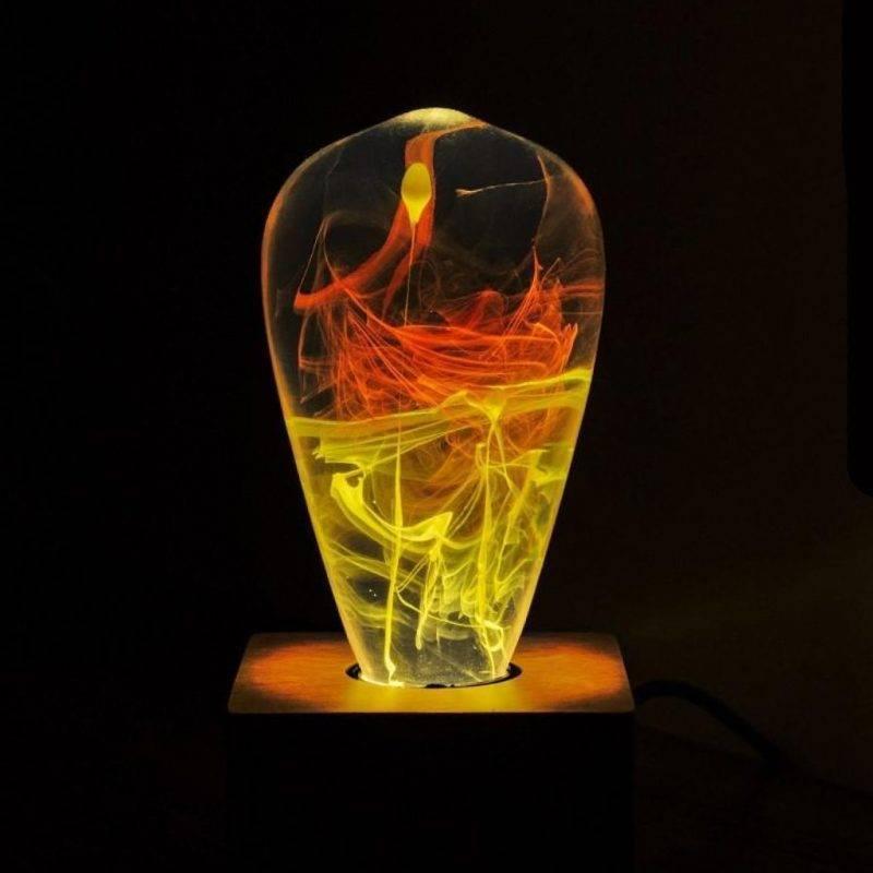 Solar Corona LED Light Bulb Home Goods Home Decor Lamps