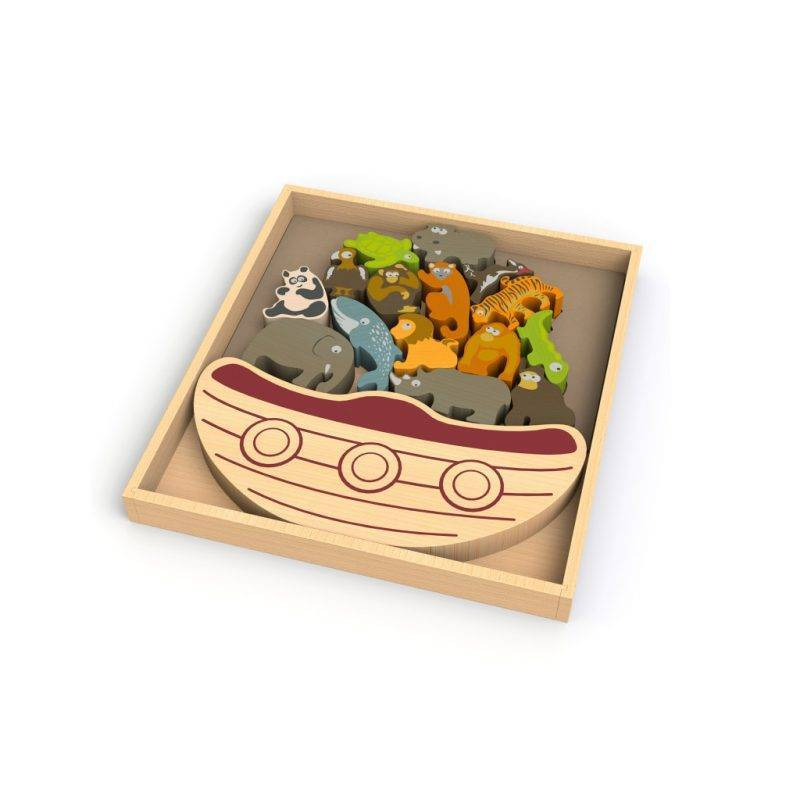 Balance Boat Endangered Animals Baby & Kid's Accessories Learning & Education