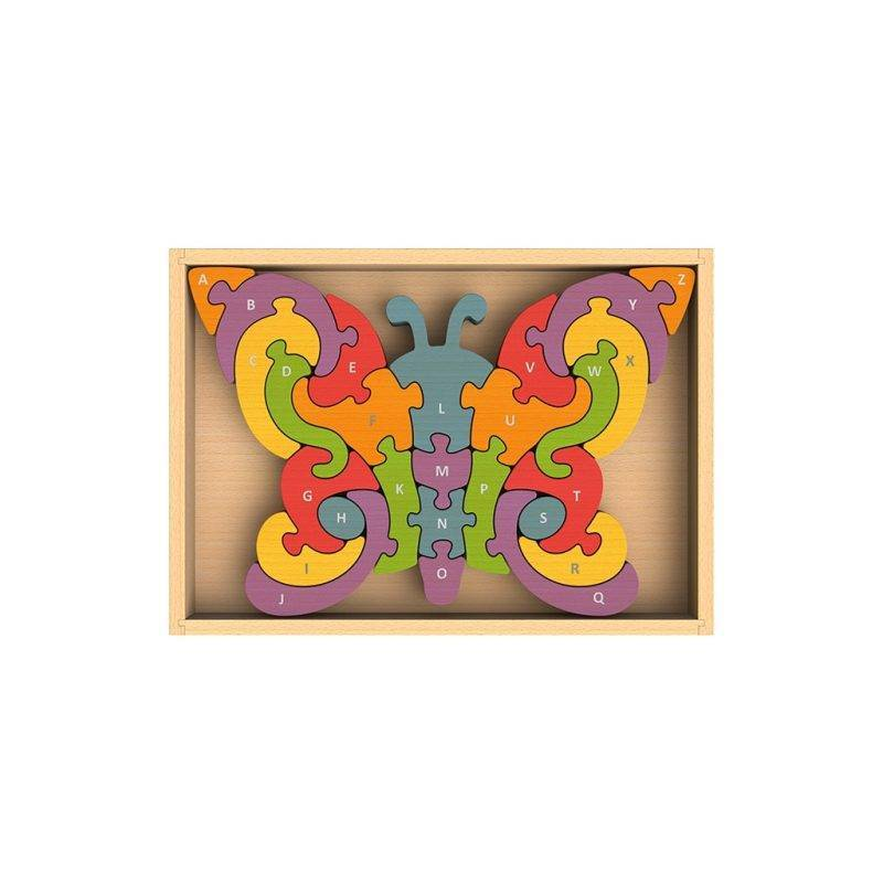 Butterfly A to Z Puzzle Baby & Kid's Accessories Learning & Education