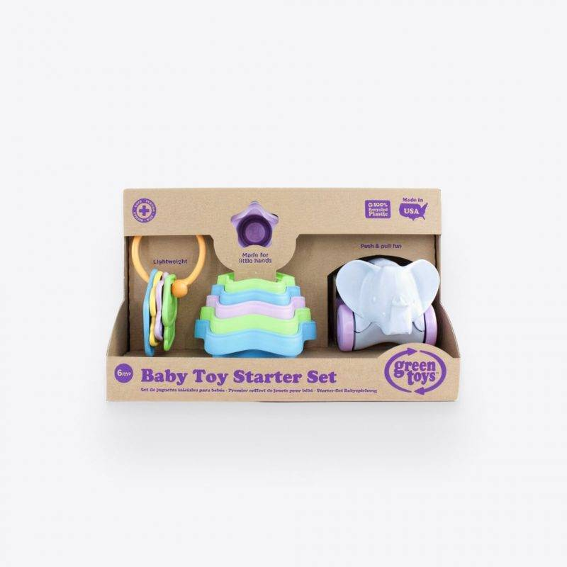 Green Toys Baby Toy Starter Set Baby & Kid's Accessories Kids Toys