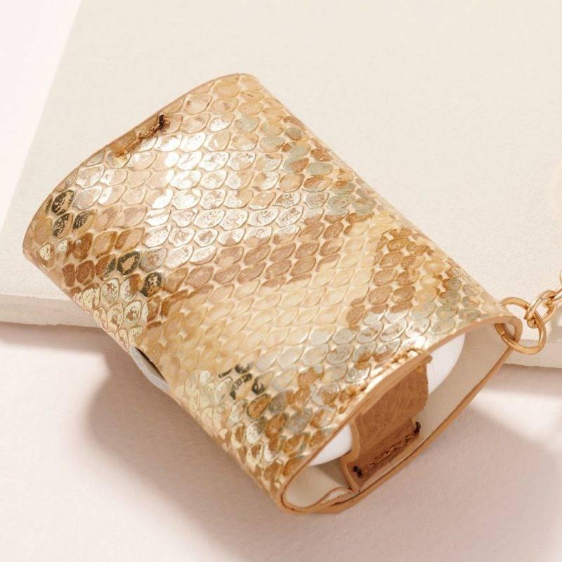 Snake Skin AirPod Pro Case Fashion Accessories Health & Beauty