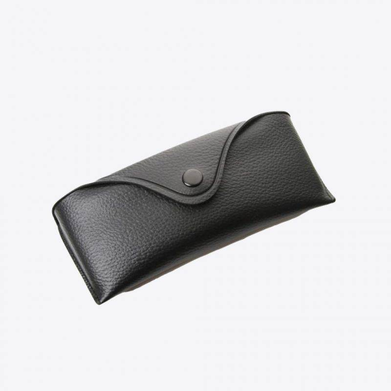 Retro Vinyl Protective Snap Case For Glasses Fashion Accessories Health & Beauty