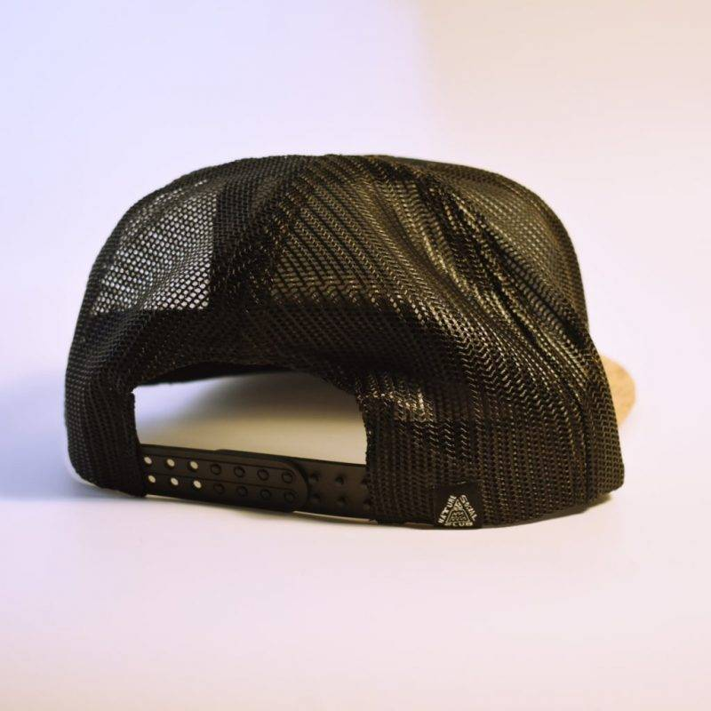 Mesh + Cork Flat-Rim ECO Cap Fashion Accessories Health & Beauty