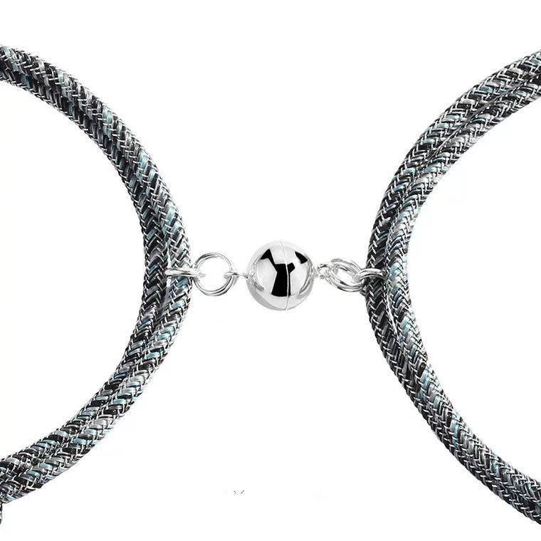 Magnetic Couple Bracelet Fashion Accessories Health & Beauty