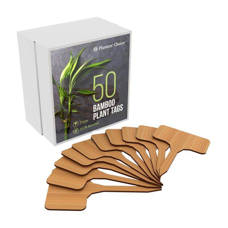 50 Bamboo Plant Labels Home Goods Tools