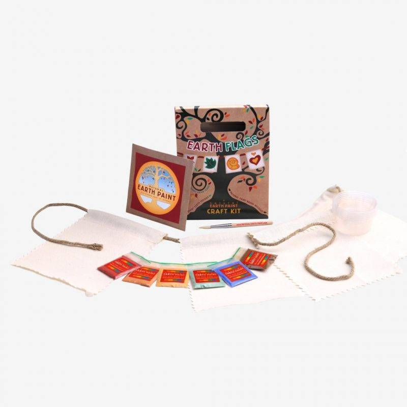 Earth Flags Craft Kit Baby & Kid's Accessories Learning & Education