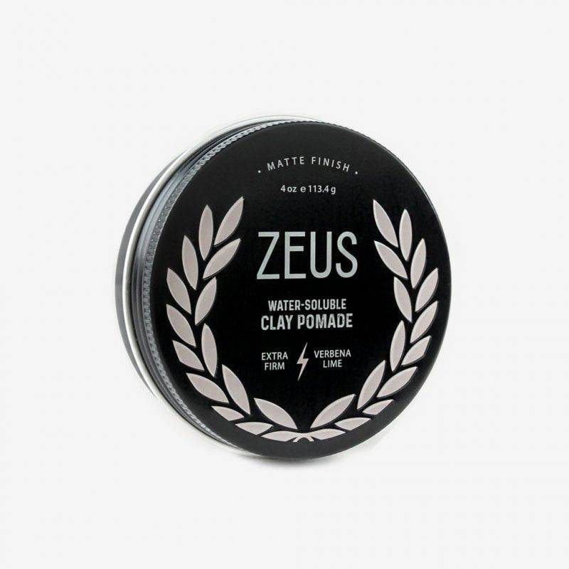 Zeus Natural Verbena Lime Extra-Firm Clay Pomade Health & Beauty Men's Grooming