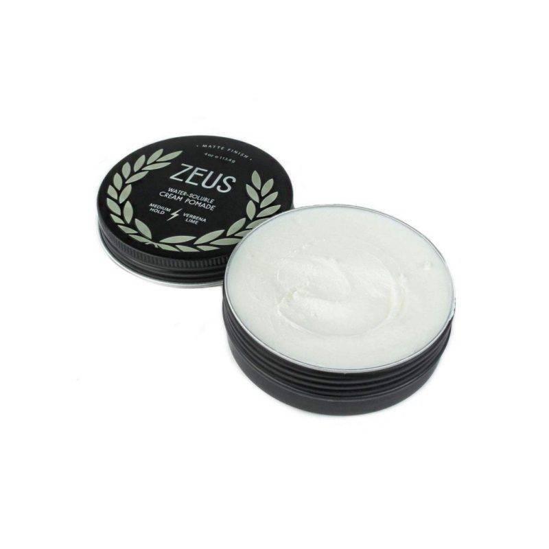 Zeus Medium Hold Verbena Lime Cream Pomade Health & Beauty Men's Grooming