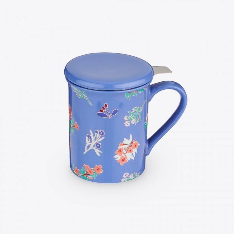 Annette™ Ceramic Tea Mug & Infuser Home Goods Kitchen & Dining