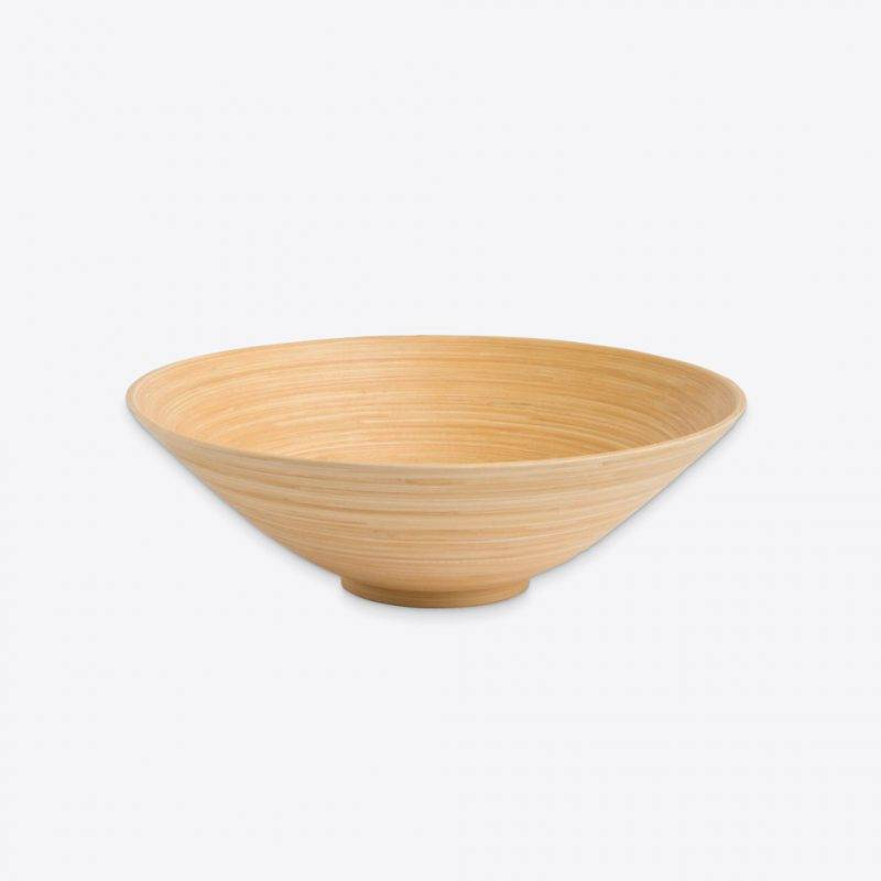 Khup Bamboo Serving Bowl Home Goods Kitchen & Dining