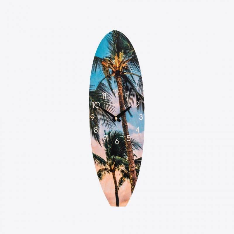 Hawaiian Palms Wall Clock Home Goods Home Decor