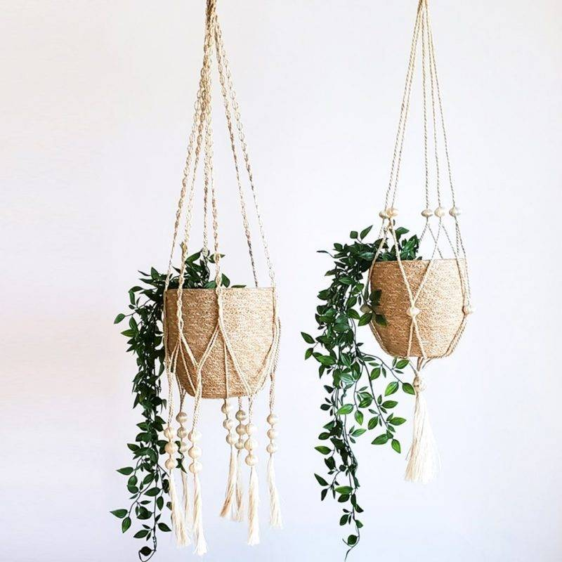Fiora Plant Hanger Set Home & Garden Home Goods