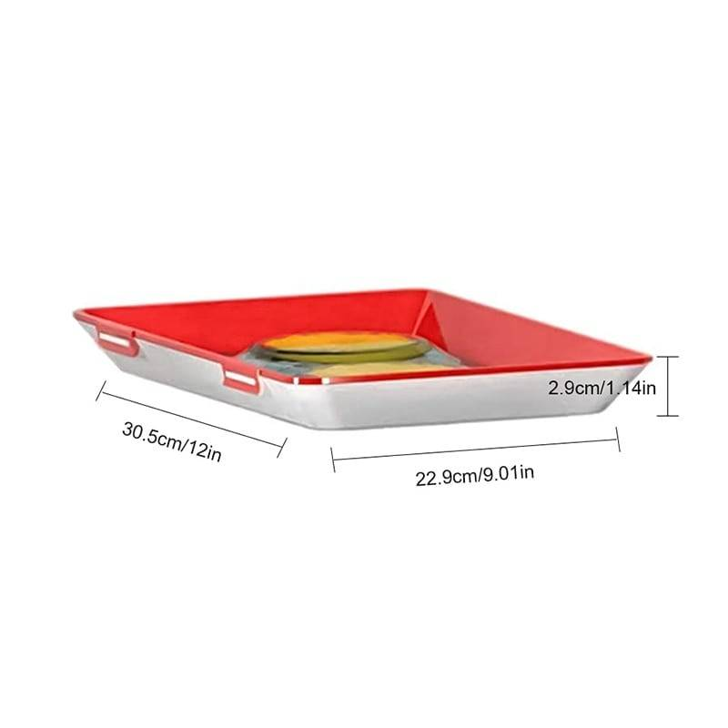 Creative Reusable Food Storage Tray Home Goods Kitchen & Dining